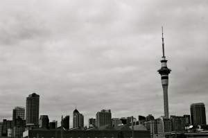 Photo by Anne Steinbach - Auckland Skyline