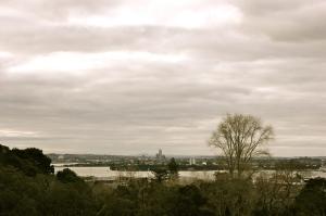 Photo by Anne Steinbach - Der Blick über Auckland vom Auckland Museum