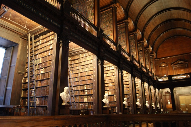 Photo by Anne Steinbach - Trinity College Library, Dublin