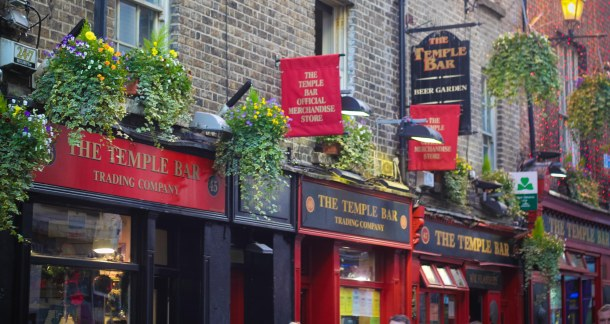 Photo by Roop Gill - Temple Bar, Dublin