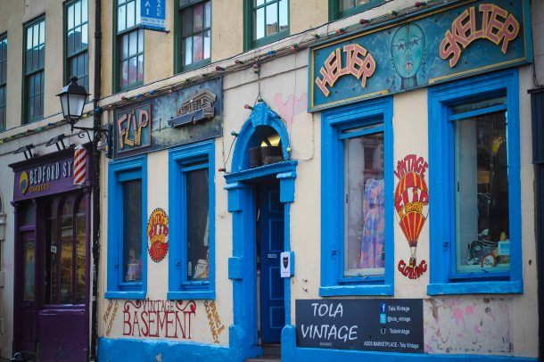 Photo by Roop Gill - Temple Bar Neighbourhood, Dublin