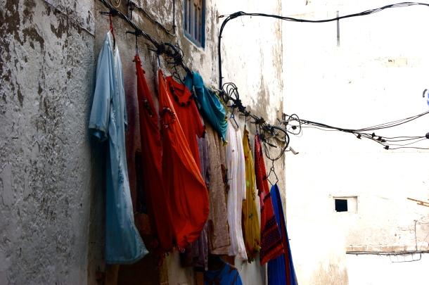 Photo by Anne Steinbach - Essaouira's alleys