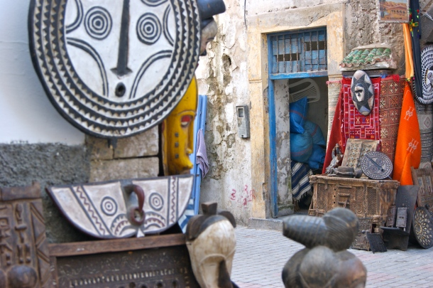 Photo by Anne Steinbach - Essaouira's alleys