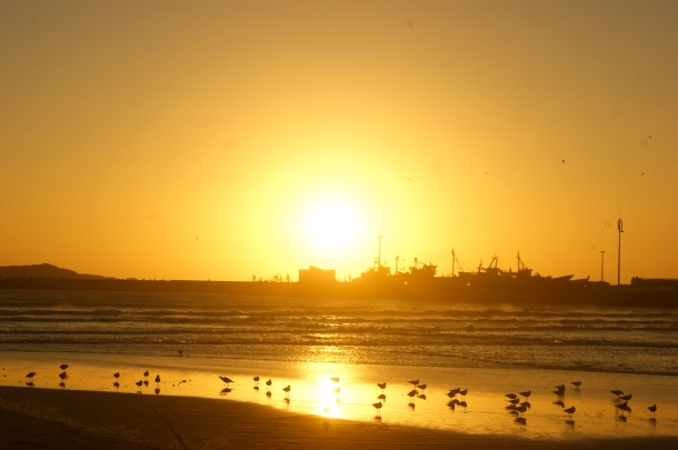 Photo by Anne Steinbach - Essaouira's sunset