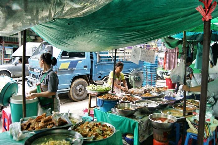 Photo by Anne Steinbach - Bangkoks Märkte 2