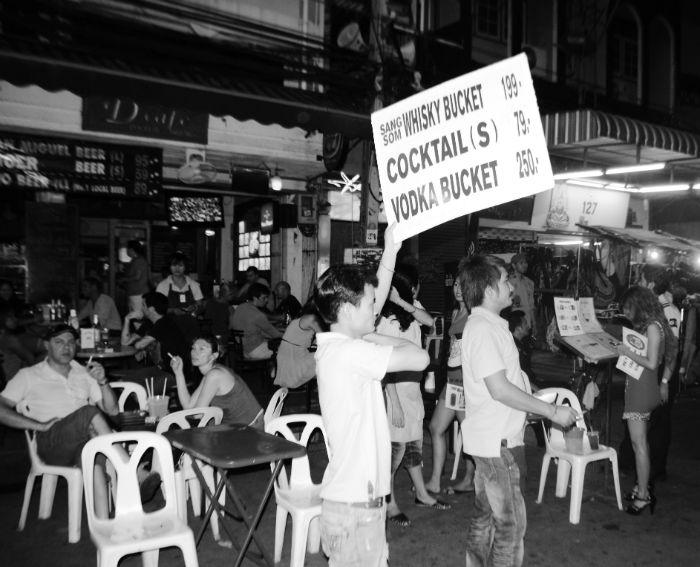 Photo by Anne Steinbach - Bucket in Bangkok