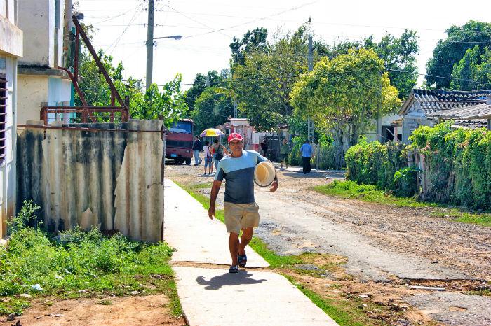 Arbeiter in Cienfuegos