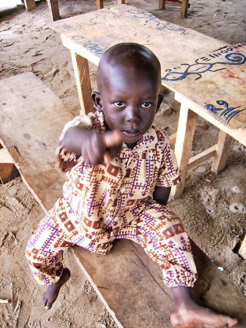 Boy in Assinie