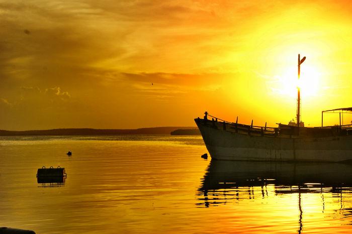 Sonnenuntergang in Cienfuegos